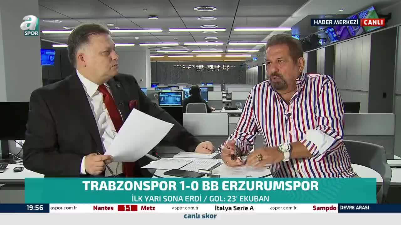 Erman Toroğlu Erzurumspor'un VAR kararıyla iptal edilen golünü değerlendirdi!