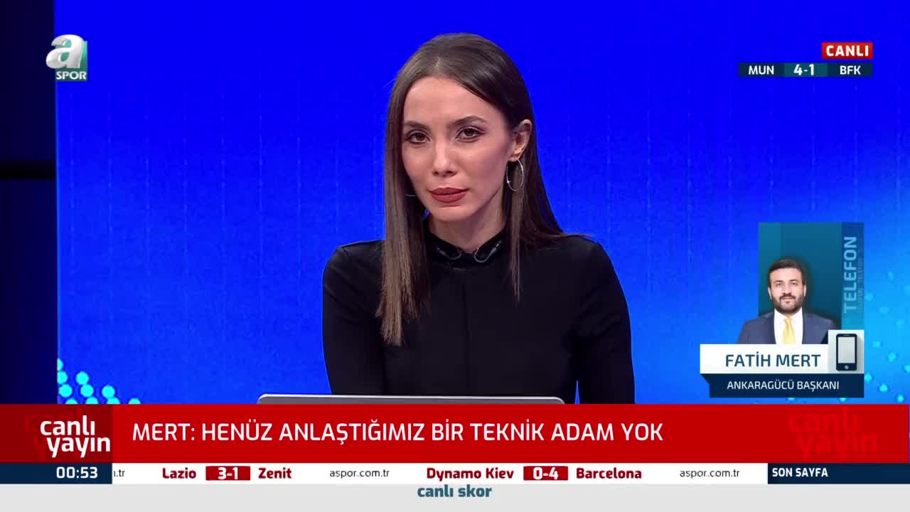 Ankaragücü yeni hocasıyla anlaştı mı? Fatih Mert A Spor'a açıkladı