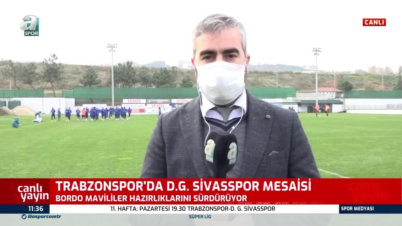 Trabzonspor'da Sivasspor hazırlıkları sürüyor! 3 yıldız...