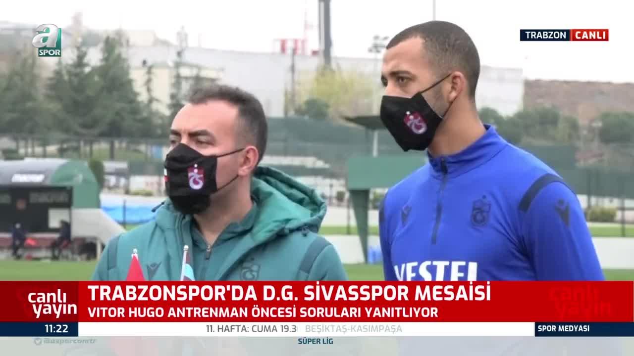 Trabzonspor'da Vitor Hugo: Kulübün yaptığı fedakarlığın farkındayım