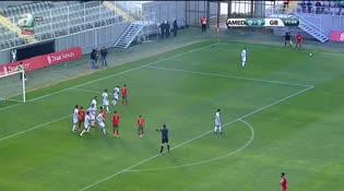 Amed Sportif: 0 - Gençlerbirliği: 4 (Tokelo Rantie)