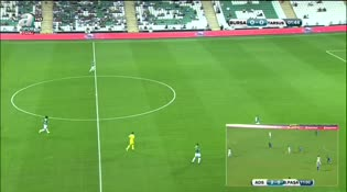 Bursaspor: 1 Tarsus İdman Yurdu: 0