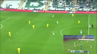Bursaspor: 2 Tarsus İdman Yurdu: 0