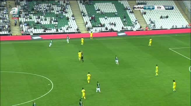 Bursaspor: 4 Tarsus İdman Yurdu: 0