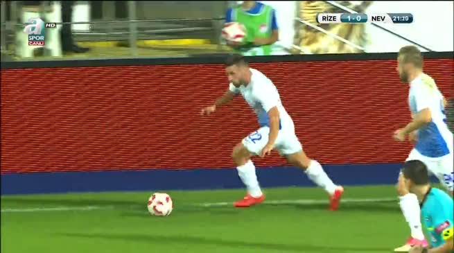 Çaykur Rizespor: 2 Nevşehirspor Gençlik: 0
