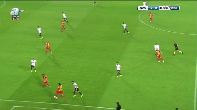 Demir Grup Sivasspor: 2 - Kızılcabölükspor: 1