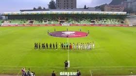 Akın Çorap Giresunspor: 2 - Menemen Belediyespor: 1 (ÖZET)