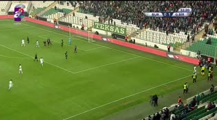 Bursaspor: 1  - Gençlerbirliği: 1