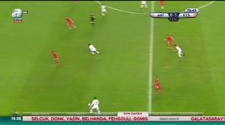 Antalyaspor: 0 - Kayserispor: 2