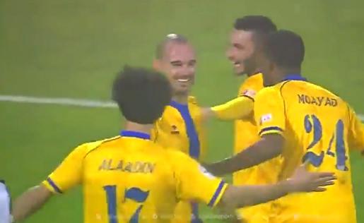 Sneijder, Katarda ilk golünü attı