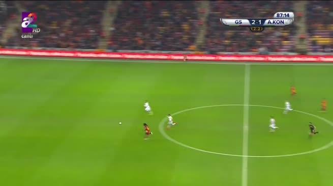 Galatasaray: 3 - Atiker Konyaspor: 1