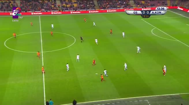 Galatasaray: 0 - Atiker Konyaspor: 1