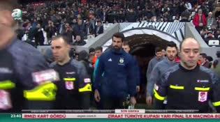 Beşiktaş: 2 - Fenerbahçe: 2 (ÖZET)