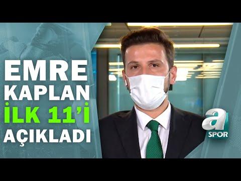 Emre Kaplan, Galatasaray - Fatih Karagümrük Maçının İlk 11'ini Açıkladı / Spor Gündemi / 09.04.2021