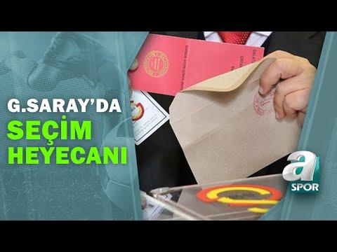 Galatasaray'da Seçim Heyecanı Başladı! İşte Son Gelişmeler / A Spor / 19.06.2021