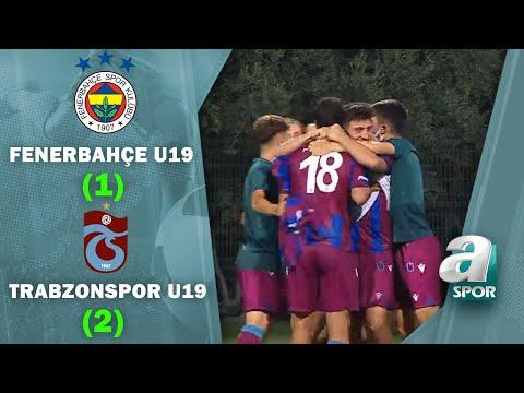 Fenerbahçe U19 1-2 Trabzonspor U19 (Süper Lig U19 Gelişim Ligi Yarı Final Maçı)